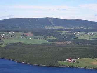 Krokom Municipality - View from Hällberget in Offerdal.