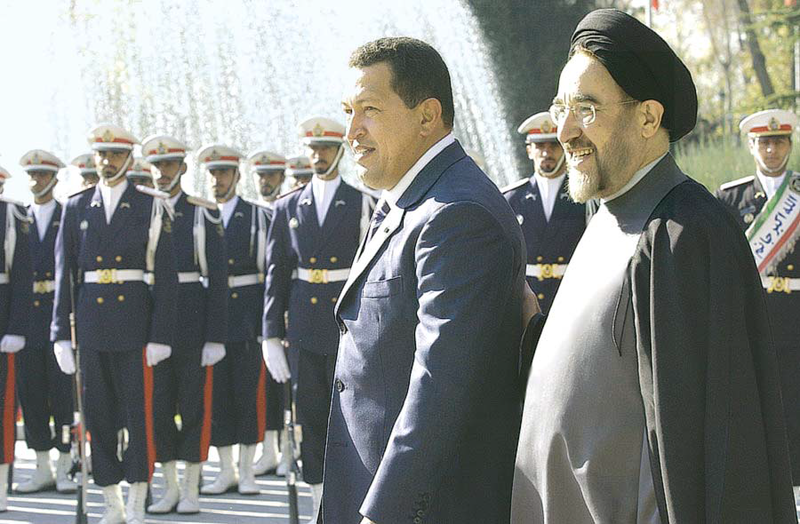 Chavez and Khatami
