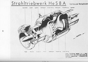 Heinkel HeS 8 - Image: Ohain USAF He S 8A page 68
