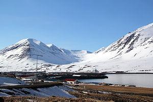 Ólafsfjörður - Ólafsfjörður in March 2013