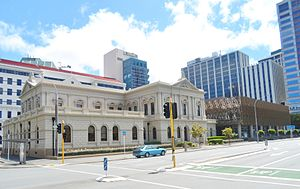 Supreme Court of New Zealand - Old High Court and Supreme Court of New Zealand in Wellington in 2015.