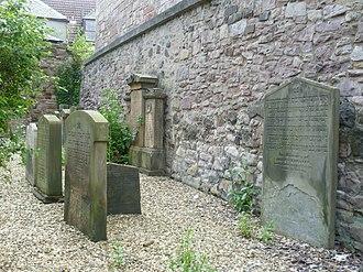 Sciennes - Image: Old Jewish Burial Ground, Sciennes Edinburgh