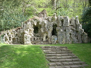 Grotto To North East Of Old Wardour Castle