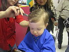 One-year-old gets first haircut IMG 5764