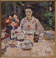 Ontbijt in de tuin, ca 1914-1916.jpg