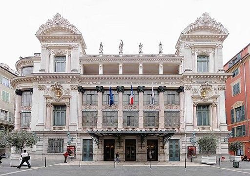 Opéra de Nice (façade nord)
