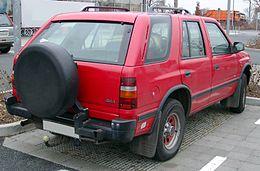 Opel Frontera Wikipedia