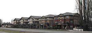 Sherwood, Oregon - Modern houses along 99 West