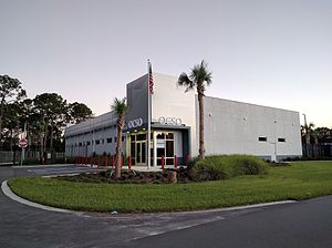 Orange County Sheriff's Office (Florida) - One of the Orange County Sheriff's Office duties is to act as the law enforcement department for Walt Disney World Resort, with the office having a location (above) onsite
