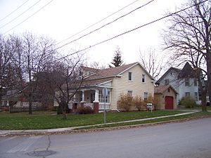 Orangeville, Ontario - The house of Orangeville founder Orange Lawrence as it stands today.
