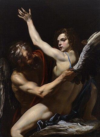 Orazio Riminaldi - Daedalus and Icarus