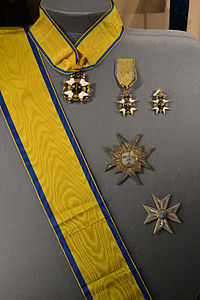 Order of the Sword - Royal Castle in Stockholm.JPG