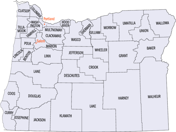 A report on multnomah county in oregon a state in the united states of america