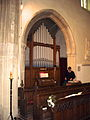 Organ in Blunham Church, Bedfordshire.JPG