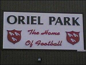 Dundalk F.C. - Image: Oriel Park