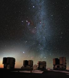 220px Orion above the VLT crop