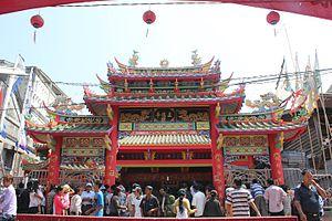 Selat Panjang - Gapura Chinese Temple at Sungai Juling, Selat Panjang