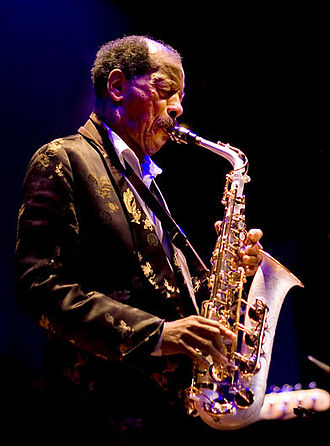 Ornette Coleman - Coleman at the Enjoy Jazz Festival, Heidelberg, October 2008