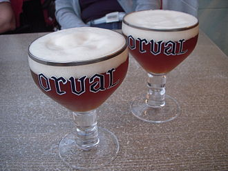 Trappist beer - Orval trappist beer
