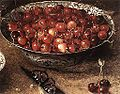 Osias Beert (I) - Still-Life with Cherries and Strawberries in China Bowls (detail) - WGA1568.jpg
