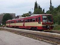 Oslavany, železniční stanice, jednotka 835.201.jpg