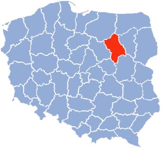 Ostrołęka Voivodeship - Ostroleka Voivodeship