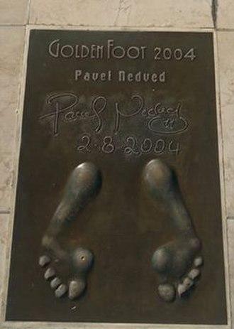 Pavel Nedvěd - Nedved's Golden Foot.