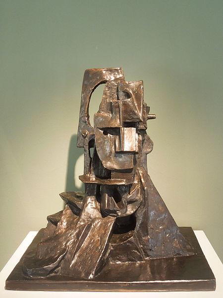 File:Otto Gutfreund - Cubist Bust.jpg