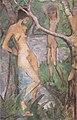 Otto Mueller - Mädchen und Knabe am Waldteich - ca1922.jpeg