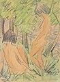 Otto Mueller - Zwei Mädchen im Wald - ca1924.jpeg
