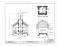 Our Lady of Peace Cathedral, 1183 Fort Street, Honolulu, Honolulu County, HI HABS HI,2-HONLU,21- (sheet 6 of 8).png