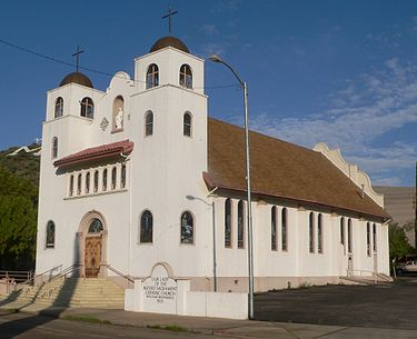 Our Lady of the Blessed Sacrament (Miami, AZ) from E 3.JPG