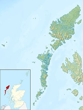 Clisham is located in Outer Hebrides