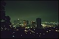 Overall View of Downtown Portland, at 8 P.M. In October, 1973 Showing Lack of Commercial Lighting During the Peak of the Energy Crisis. The Ban Was Issued by Executive Order of Oregon's Governor 10-1973 (4272454142).jpg