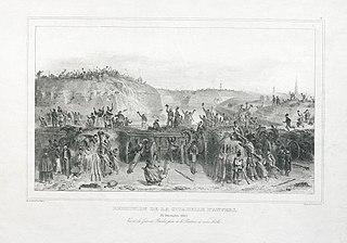 Overgave van de citadel van Antwerpen op 23 december 1832