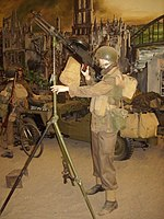 Overloon War Museum 2010, diorama military equipment.jpg