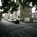 Overzicht van de voorgevels van het woonblok aan de Sichemstraat - Rotterdam - 20388533 - RCE.jpg
