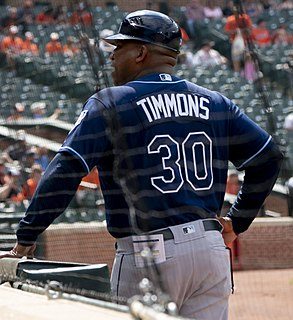 Ozzie Timmons American baseball player and coach
