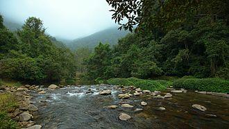 Pác Bó - Lê Nin stream in Pác Bó tourism area near the cave