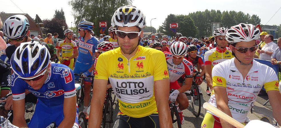 Péronnes-lez-Antoing (Antoing) - Tour de Wallonie, étape 2, 27 juillet 2014, départ (D11).JPG