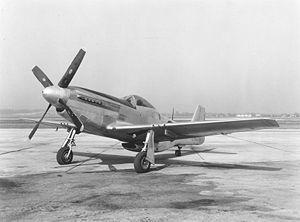 un P-51D