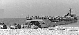 Vierz marines landing in Makharia in 1980
