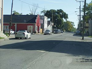 Main Street in Wheatfield