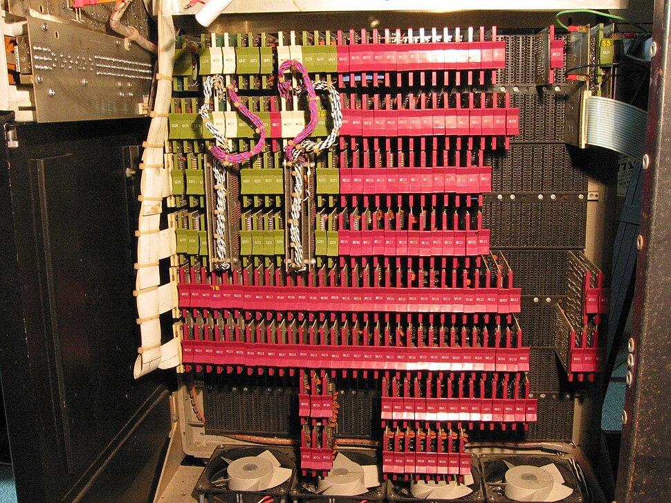 PDP-8i cpu