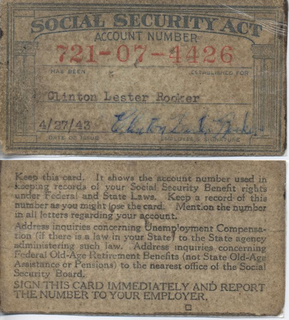 Social Security number nine-digit number issued to U.S. citizens, permanent residents, and temporary working residents