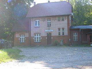 Maszewo Lęborskie Village in Pomeranian, Poland