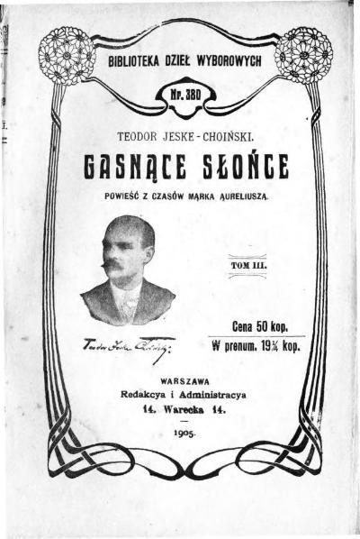 File:PL Teodor Jeske-Choiński-Gasnące słońce Tom III.djvu