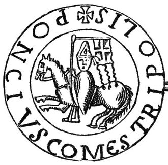 Pons, Count of Tripoli - His seal