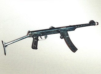 PPS submachine gun - PPS-43 with stock extended