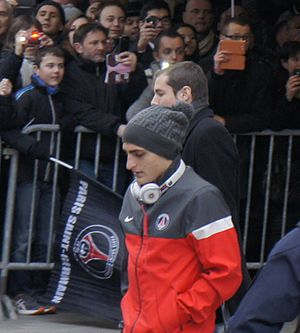Marco Verratti - Verratti with Paris Saint-Germain in March 2013.